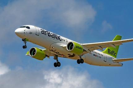 AirBaltic будет летать из Таллинна в Рим, Гамбург и Цюрих