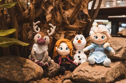В аэропорту Чанги открылся зимний городок по мотивам мультфильма Холодное Сердце