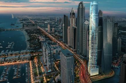 В Дубае строят новый самый высокий отель мира