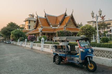 Бангкок стал третьим в мире по загрязнению воздуха
