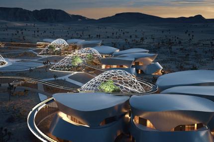 В пустыне Мохаве построят космическую деревню
