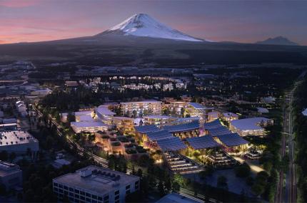 Toyota хочет построить в Японии умный город
