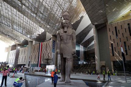 Большой Египетский музей откроется в конце года