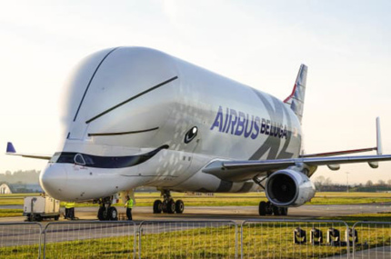 Новый Airbus в форме белухи совершил первый полёт