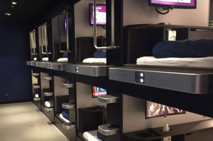 В аэропортах Стамбула открыли капсулы для сна