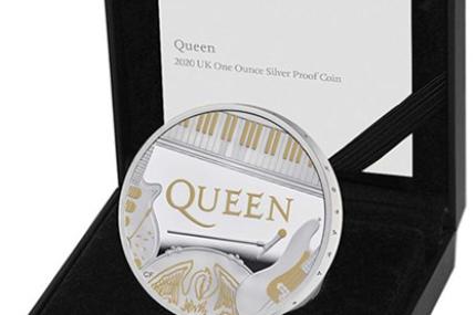 Монетный двор Великобритании выпустил монету в честь группы Queen