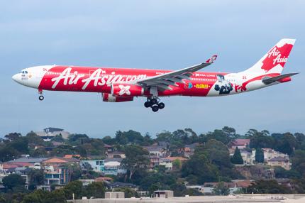 Лоукостер AirAsia начал летать на Окинаву в Японию