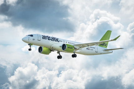 AirBaltic расширила авиапарк в Таллинне