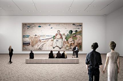Открытие музея современного искусства Эдварда Мунка в Осло перенесли