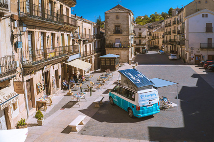 В Испанию пришел сервис по аренде авто для кемпинга