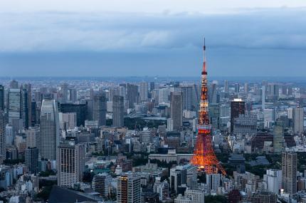 Над центром Токио впервые разрешили летать гражданским самолётам