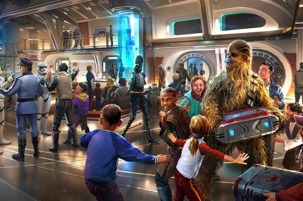 """Отель Disney по """"Звёздным войнам"""" начнёт принимать бронирования уже в этом году"""