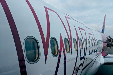 Wizz Air временно не будет летать из Одессы