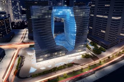 В Дубае скоро откроется отель по проекту Захи Хадид