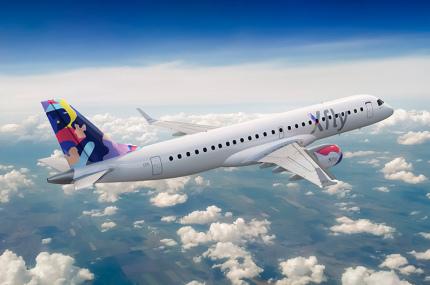 Эстонская Regional Jet теперь будет летать под новым брендом