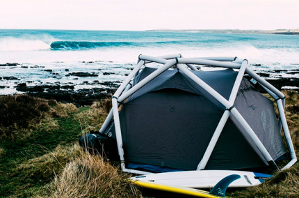 Создана палатка, которая устанавливается за минуту