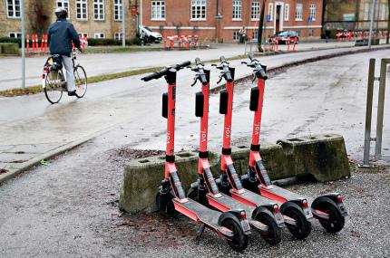 Определён самый опасный вид транспорта в Дании