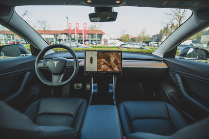 В авто Tesla можно будет играть в видеоигры