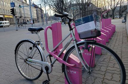 В Таллинне запустили бесплатный прокат велосипедов