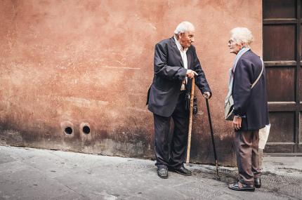 В Евростат рассказали, где в ЕС живёт больше всего пожилых людей