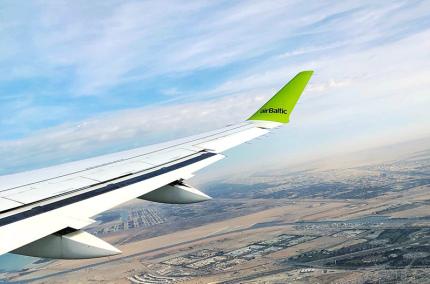 В airBaltic рассказали, когда возобновятся полёты в Украину