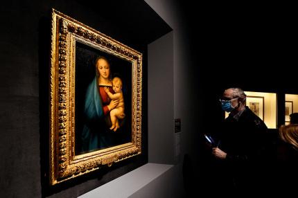 В сети запустили крупнейшую выставку работ Рафаэля