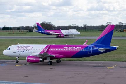 Wizz Air открыл пять новых направлений из Европы в ОАЭ
