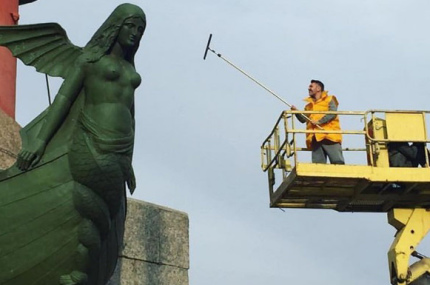 Сергей Шнуров позаботился о туристах Санкт-Петербурга