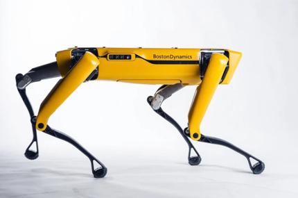 На улицы Сингапура вышел робот-пёс