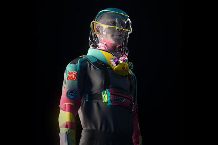 Американские дизайнеры создали защитный костюм для вечеринок