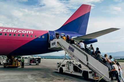 Wizz Air запустит 32 новых направления из Милана и Ларнаки