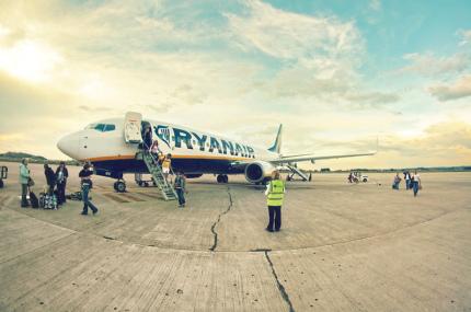 Ryanair начал продавать билеты из Украины в Италию