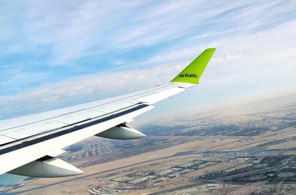 airBaltic возобновит полёты в Украину с 15 июня