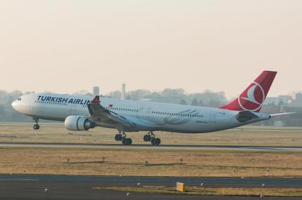 Turkish Airlines изменила количество времени на регистрацию в аэропорту