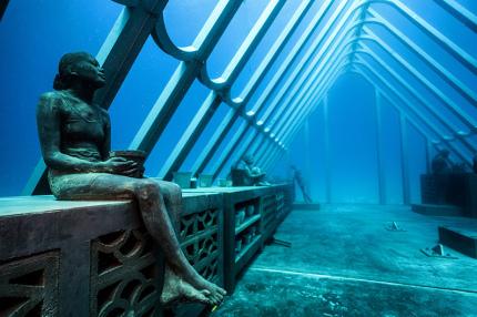 На Большом Барьерном рифе откроется музей подводного искусства