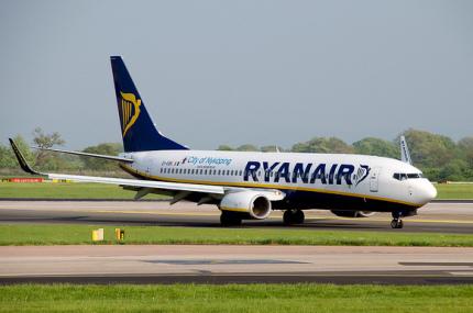 Стартовала осенняя распродажа от Ryanair