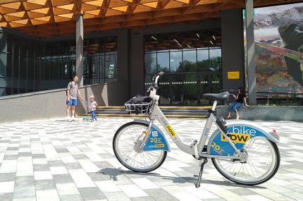 Киевский сервис велопроката Nextbike сделал ребрендинг