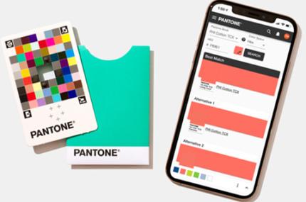 Pantone создали приложение для подбора цветов
