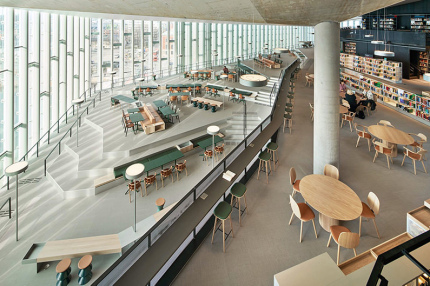 В Осло открылась новая футуристическая библиотека