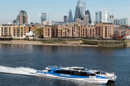 Uber запустит речные перевозки в Лондоне
