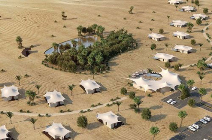В пустыне Шарджа откроют элитный гостиничный курорт