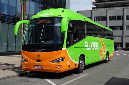 FlixBus запустил два международных рейса из Киева