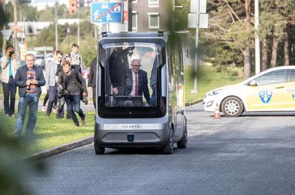 В Финляндии запустят беспилотные автобусы