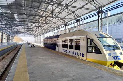 Укрзалізниця увеличила частоту рейсов на линии Киев-Борисполь