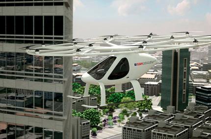 К концу года в Дубае запустят летающие такси