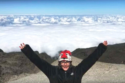 8-летняя американка покорила Килиманджаро