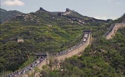 Под Великой Китайской стеной строят скоростную железную дорогу