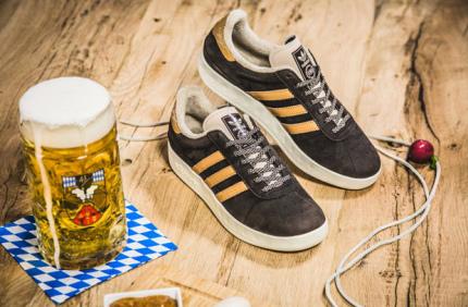 Adidas выпустила особые кроссовки к Октоберфесту