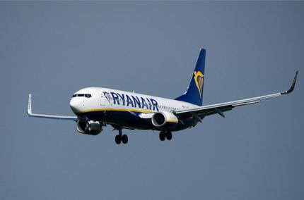 Ryanair опубликовал список рейсов, которые планирует отменить