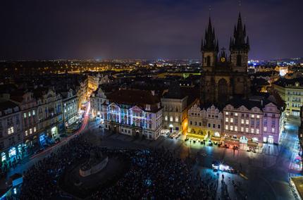 В Чехии пройдет фестиваль света Signal